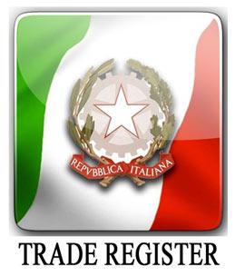 Выписка из торгового реестра Италии