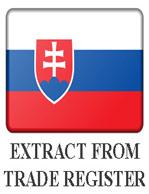Выписка из торгового реестра Словакии